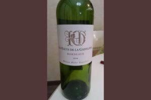 Отзыв о вине Les Hauts de la Gaffeliere 2010