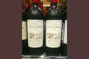 Отзыв о вине Louis Eschenauer 2013