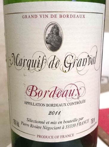 Marquis_de_Granval_2011_label