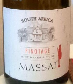 Massai_pinotage_2014_label