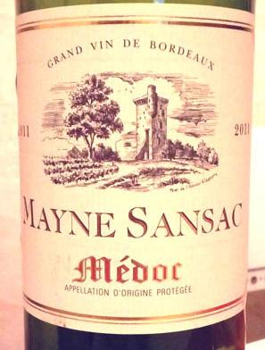 Mayne_Sansac_2011_label