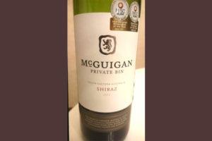 Отзыв о вине McGuigan private bin 2012
