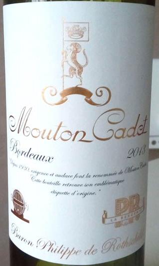 Mouton_Cadet_baron_Philippe_de_Rotshshild_2013_label