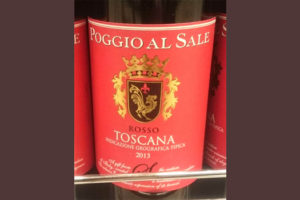 Отзыв о вине Poggio al Sale 2013