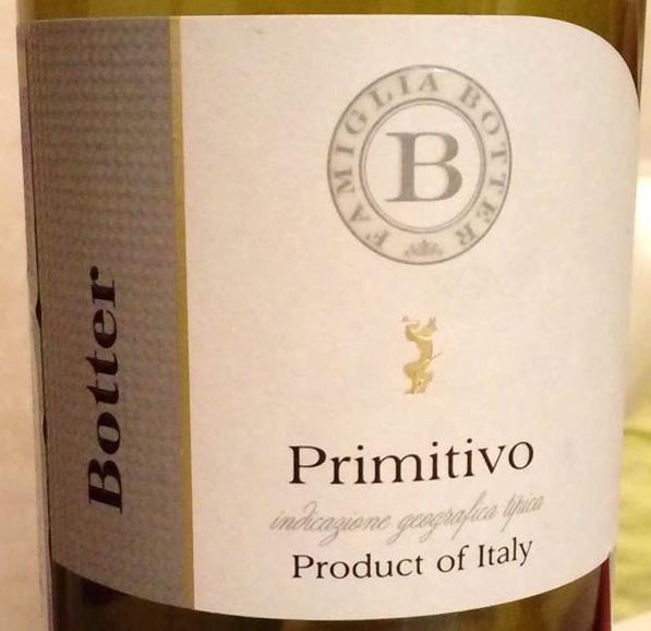 Primitivo_Botter_2014_label
