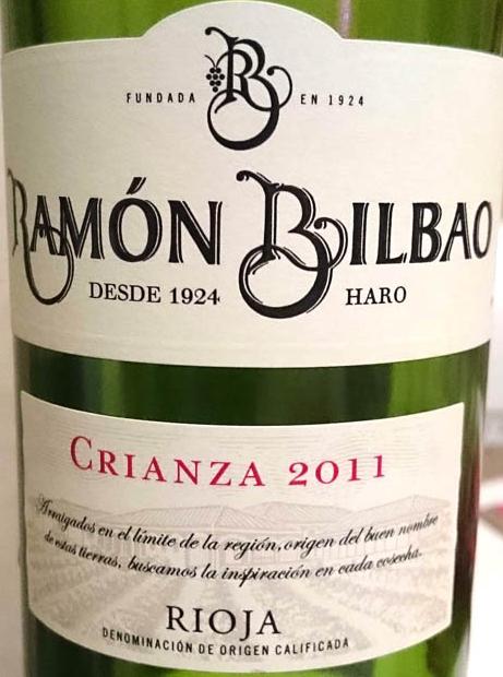 Ramon_Bilbao_Crianza_2011_label