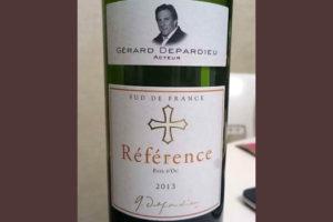 Отзыв о вине Reference Gerard Depardieu 2013