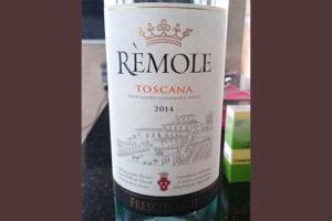 Отзыв о вине Remole Toscana 2014
