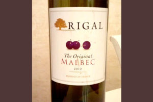 Отзыв о вине Rigal the original malbek 2012