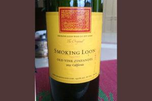 Отзыв о вине Smoking Loon 2012