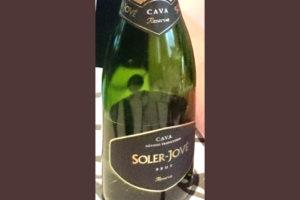Отзыв об игристом вине Soler-Jove 2012