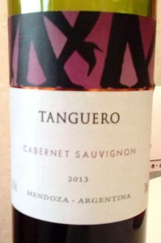 Tanguero_Cabernet_sauvignon_2013_label