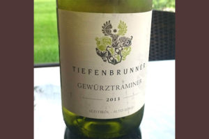 Отзыв о вине Tiefenbrunner bianco 2013
