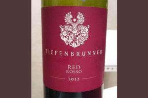 Отзыв о вине Tiefenbrunner rosso 2012