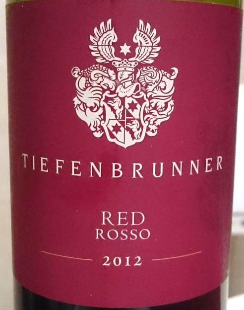 Tiefenbrunner_rosso_2012_label