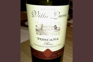 Отзыв о вине Villa Lucia 2013