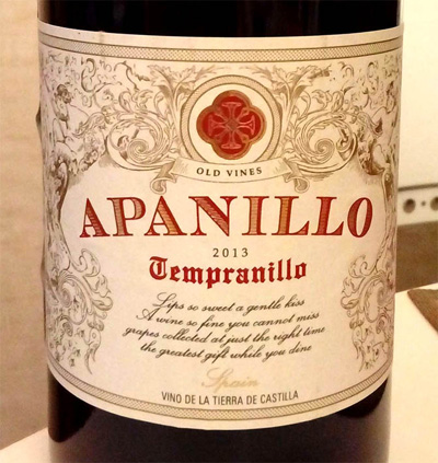 Apanillo_tempranillo_2013_label