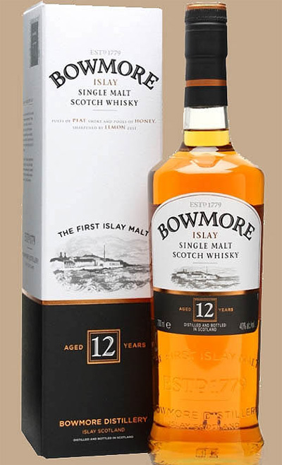 Bowmore_12_label