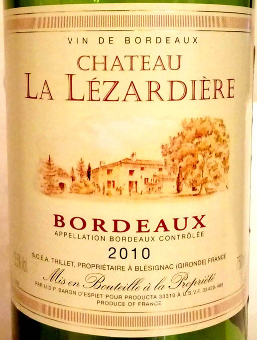 Chateau_la_Lezardiere_2010_label