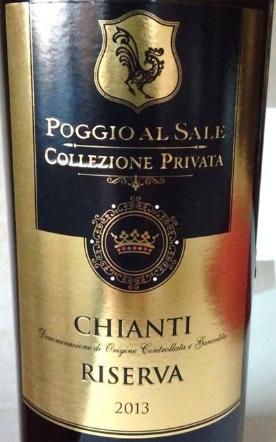 Chianti_reserva_2013_collezione_privata_(Poggio_al_Sale)_label