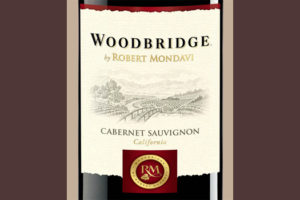 Отзыв о вине Woodbridge Robert Mondavi cabernet sauvignon 2013