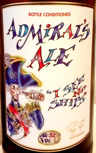Отзыв о пиве Admiral's Ale