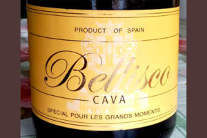 Отзыв об игристом вине Bellisco cava 2014