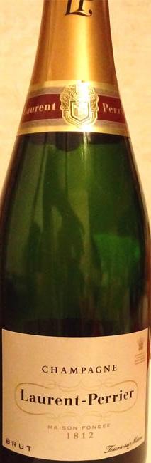 Отзыв о шампанском Laurent-Perrier brut 2013