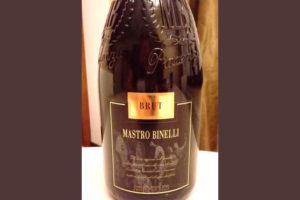 Отзыв об игристом вине Mastro Binelli 2016