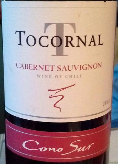 Отзыв о вине Tocornal cabernet souvignon 2014