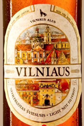 Отзыв о пиве Vilniaus nefiltruotas sviesusis