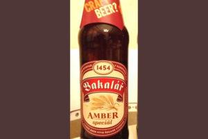 Отзыв о пиве Bakalar amber spicial