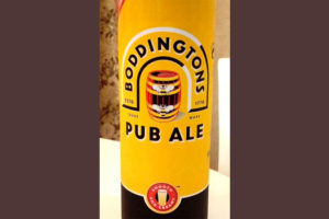 Отзыв о пиве Boddingtons Pub Ale
