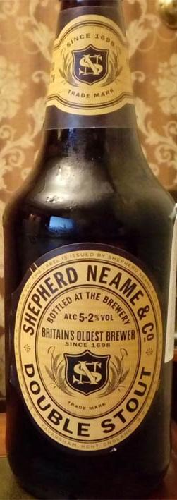 Отзыв о пиве Double staut shepherd neame