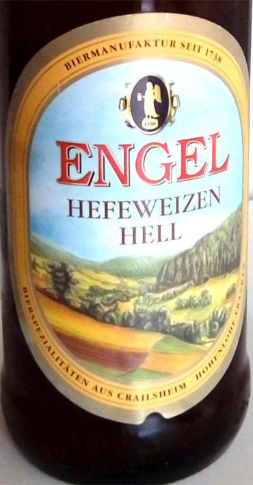 Отзыв о пиве Engel hefeweisse hell