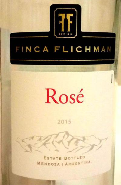 Отзыв о вине Finca Flichman Rose 2015