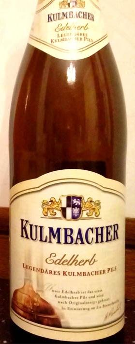 Отзыв о пиве Kulmbacher edelherb premium pils
