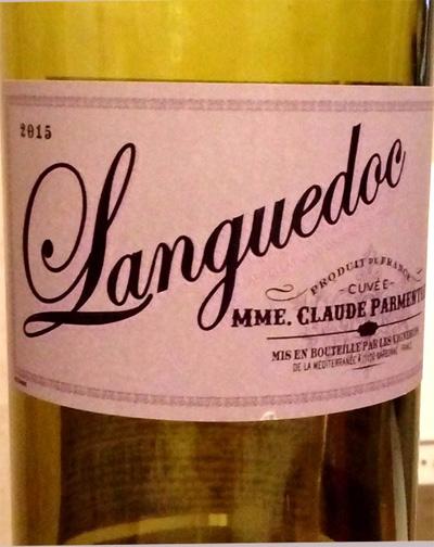 Отзыв о вине Languedoc Mme. Claude Patmentier 2015
