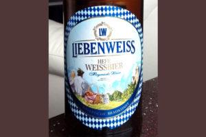 Отзыв о пиве Liebenweisse hefeweissebier