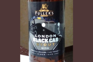 Отзыв о пиве London Black Cab
