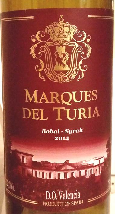 Отзыв о вине Marques del Turia 2014