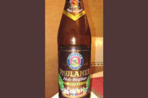 Отзыв о пиве Paulaner hefe-weisbier dunkel