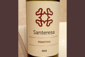 Отзыв о вине Santeresa primitivo 2015