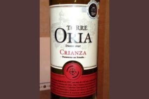 Отзыв о вине Torre Oria 2011