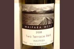 Отзыв о вине Two Terrace Red Waipapa west 2008