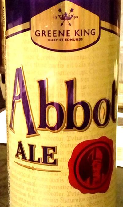 Отзыв о пиве Abbot Ale