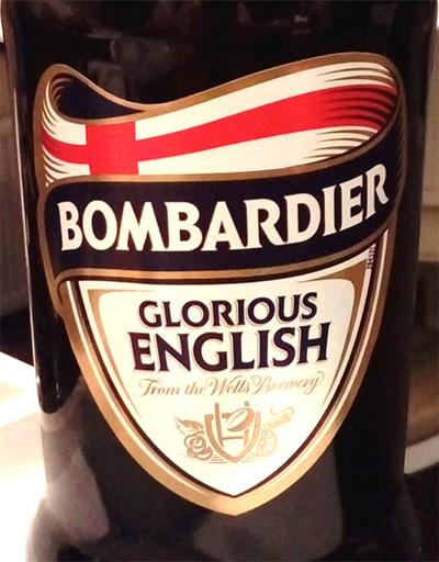 Отзыв о пиве Bombardier glorious english
