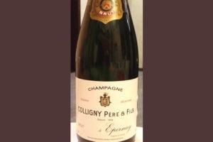 Отзыв о шампанском Colligny Pere & Fil s 2014