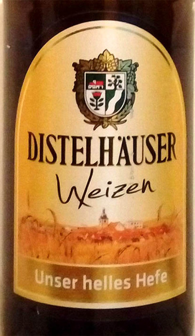 Отзыв о пиве Distelhauser weizen