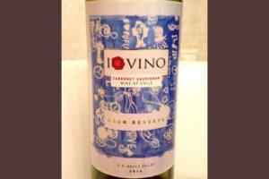 Отзыв о вине I Love Vino cabernet sauvignon gran reserva 2014